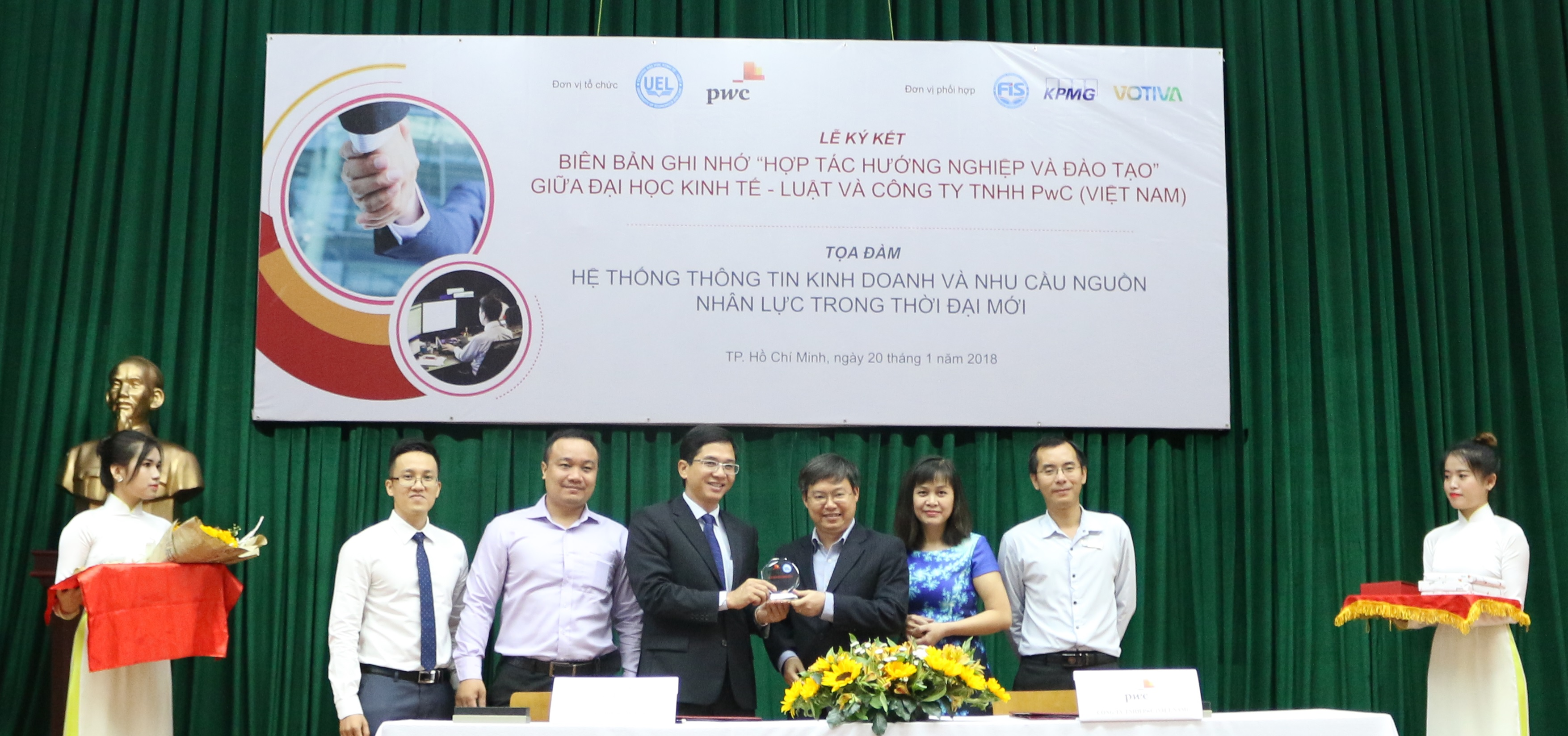 pwc vietnam and uel form strategic partnership in career orientation and training