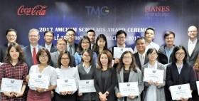 US Ambassador presents 20 new AmCham Scholars