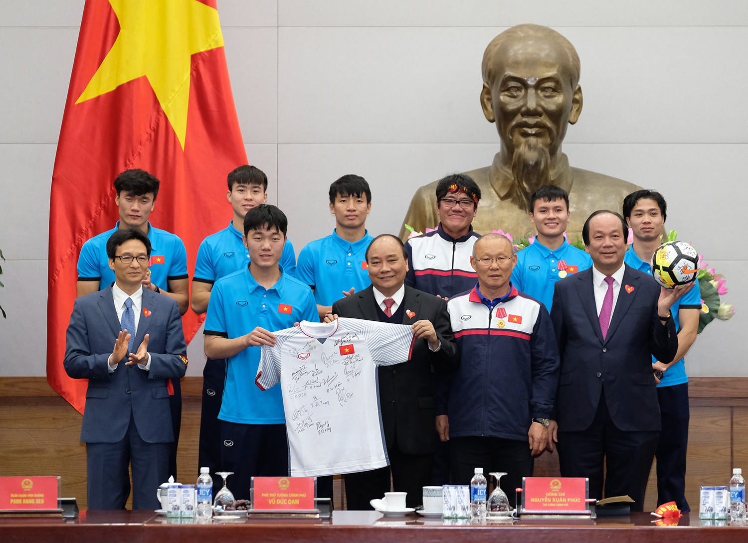 honourable medals awarded to u23 vietnam team