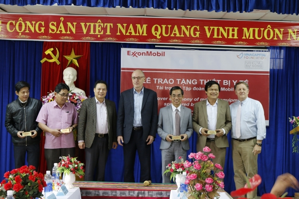 exxonmobil contributes 80000 to childrens healthcare in central vietnam