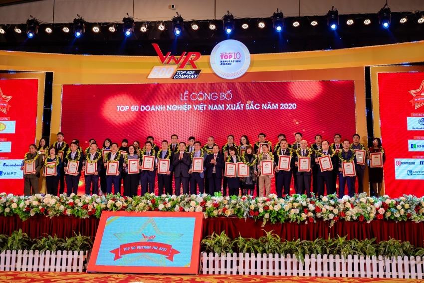 cp vietnam in 50 best enterprises
