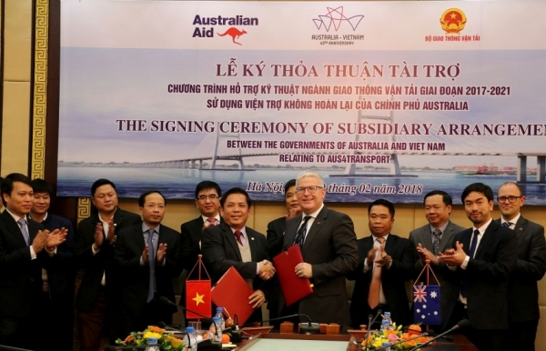 australia provides 24 million to support transport project development