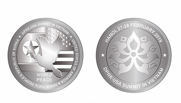 vietnam issues silver coins to celebrate trump kim summit