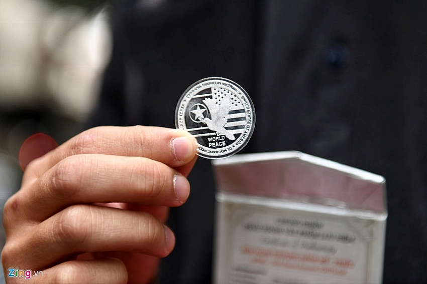 Coin for DPRK USA Summit in VIET NAM 2nd
