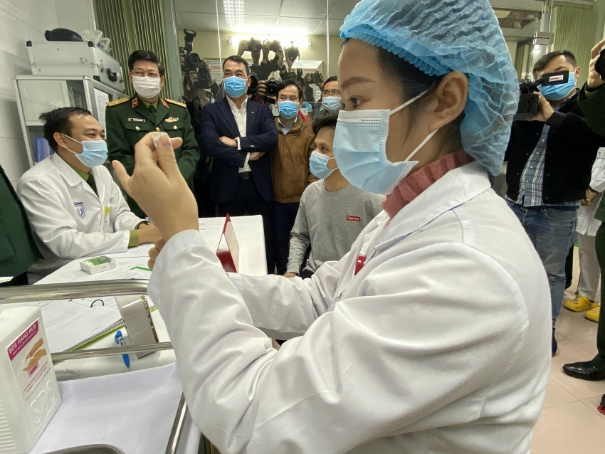 millions of vaccines to arrive in vietnam this month