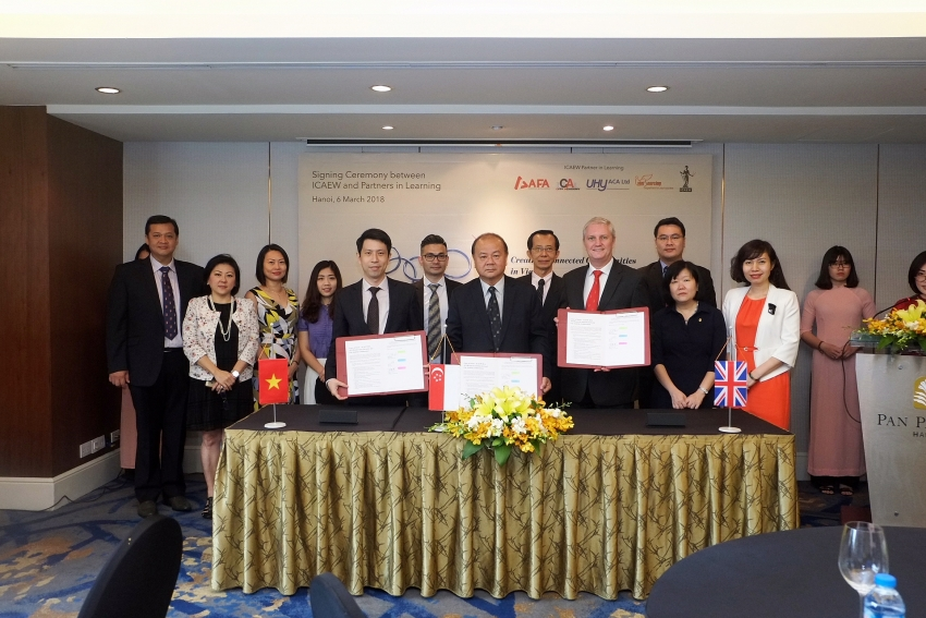 icaew signs with partners in learning in singapore and vietnam