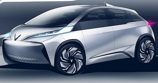 vinfast reveals petrol and electric hatchback designs