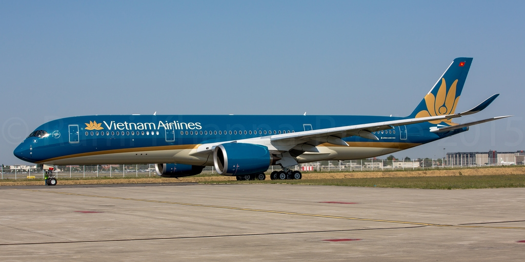 vietnam airlines to sale and leaseback one a350 900xwb aircraft
