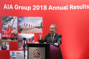 aia delivered an excellent performance in 2018