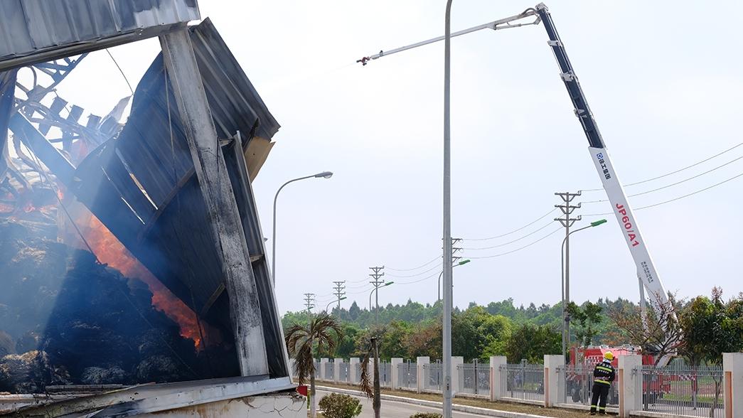 fire destroys texhong yinlongs 8000sqm factory