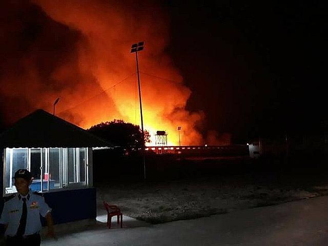 huge fire destroys 2000sqm rk resources furniture factory