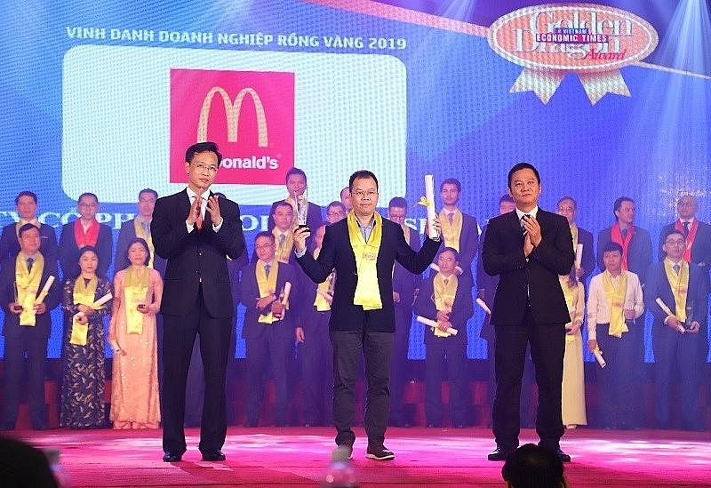 mcdonalds vietnam recognised notable sustainable development company
