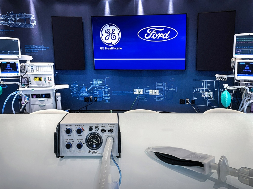 ford partners ge healthcare to produce 50000 ventilators to fight off coronavirus