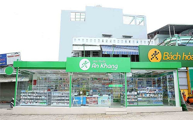 an khang pharmacy made some losses after merging with mobile world