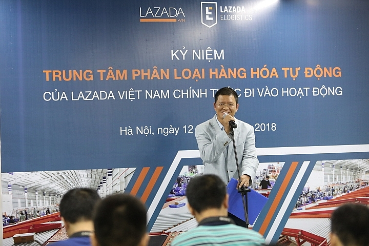 lazada opens second automatic sorting centre in hanoi