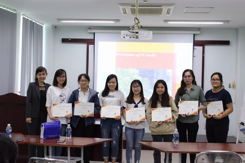 pwc vietnam promotes it audit knowledge among university students