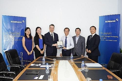 eximbank receives international banking award