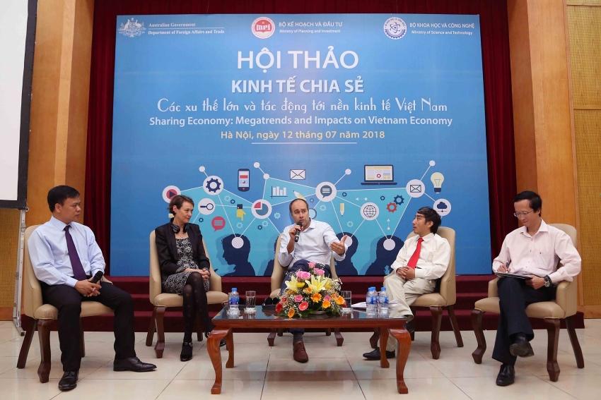 proactively taking advantages of sharing economy