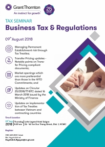grant thornton to hold seminar on business tax and regulations
