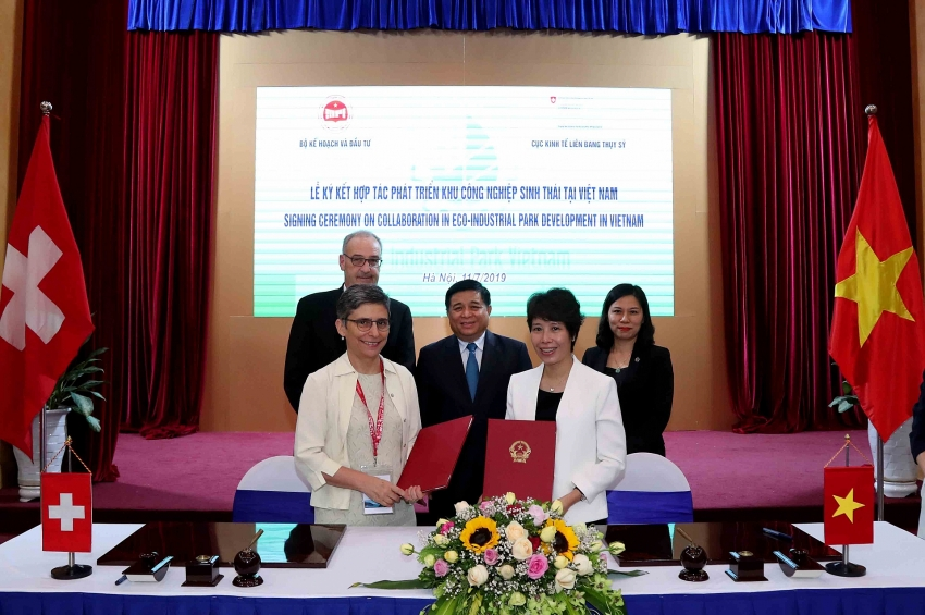 switzerland supports vietnam to develop eco industrial park