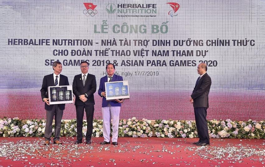 Herbalife Nutrition announces athlete sponsorship for 2019