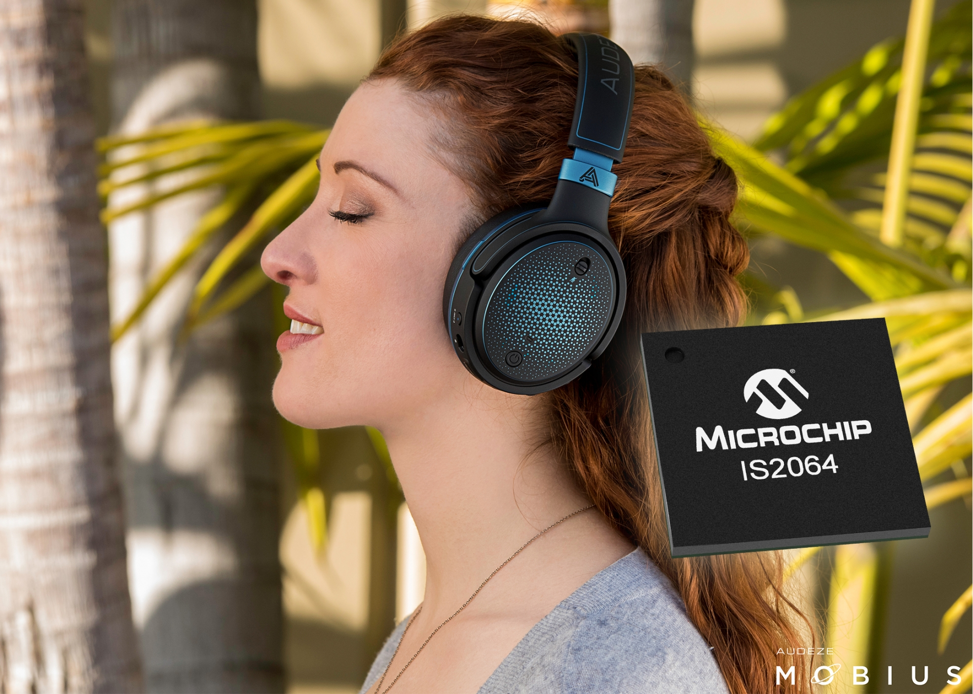 microchip collaborates with sony to create high solution audio devices