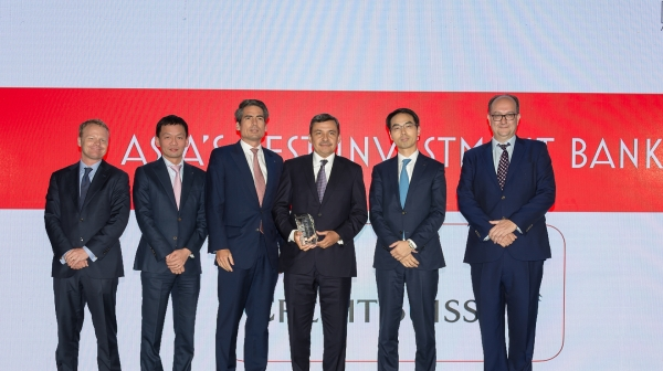credit suisse named vietnams best investment bank for ninth time