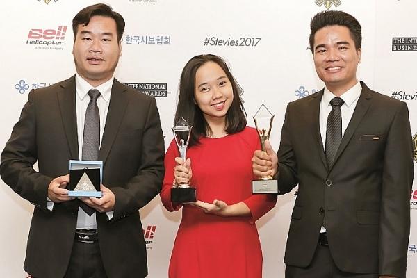 vietnamese businesses win big in 15th international stevie awards