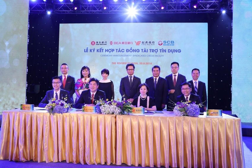scb and hong kong banks sign the cooperation agreement on syndicated credit financing