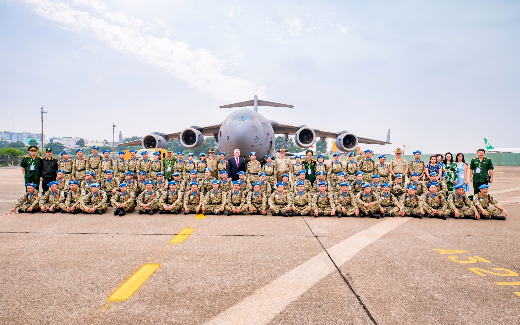australia helps vietnam deploy on its first un mission to south sudan