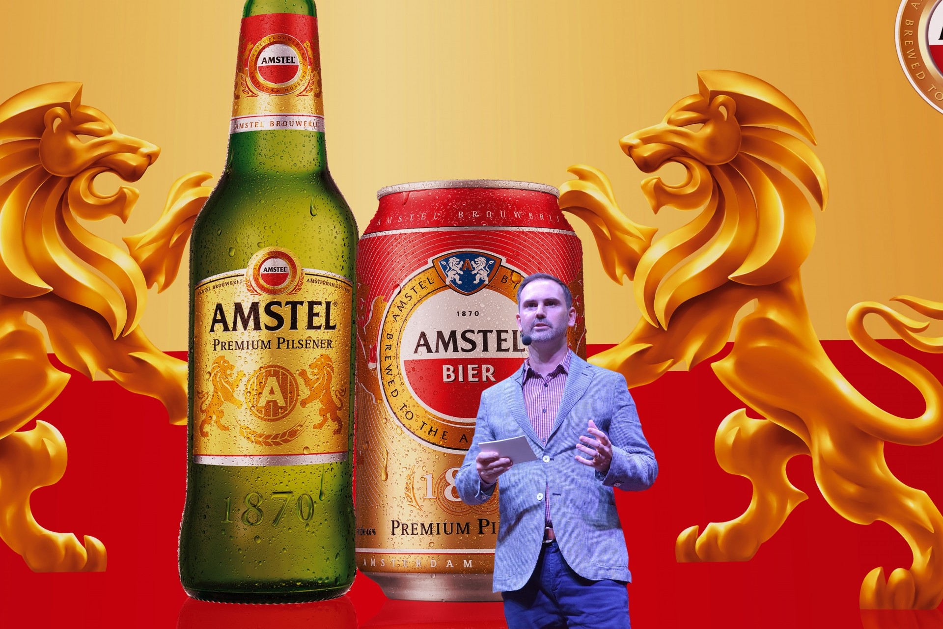 amstel officially enters vietnamese beer market