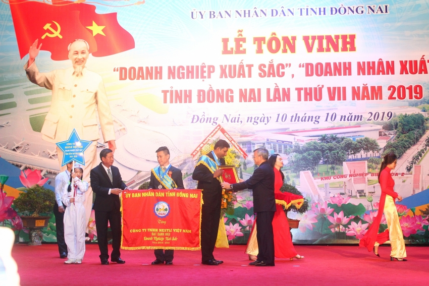 nestle honoured as excellent business by dong nai province