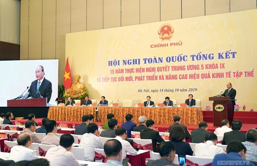 performance of cooperative economy improving