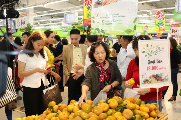 strengthening consumption of local specialities in big c supermarkets