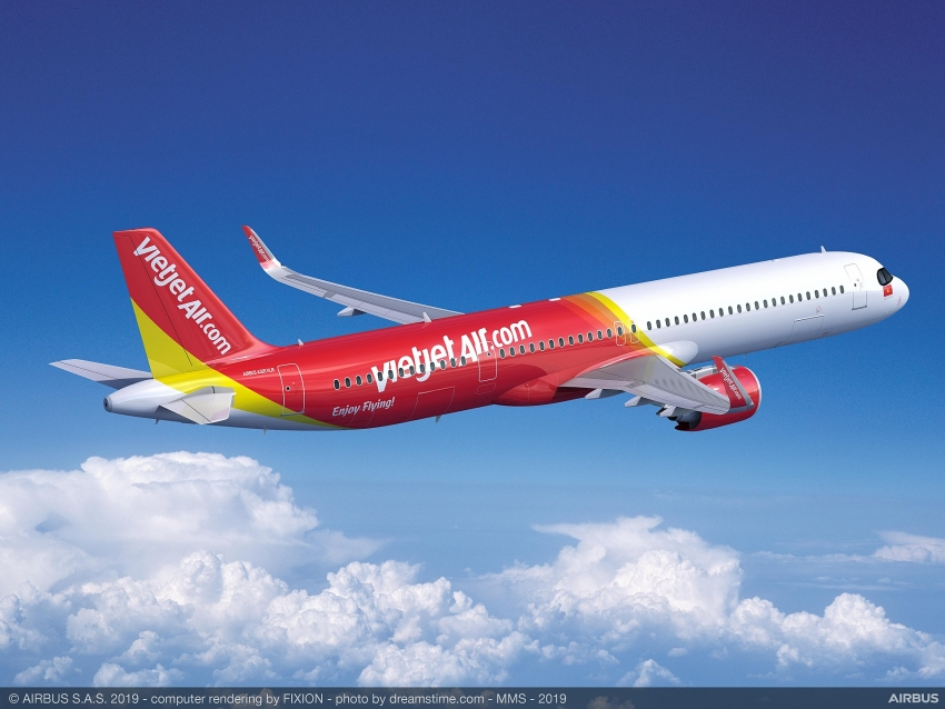 vietjet places order for 20 newest generation airbus a321xlr aircraft
