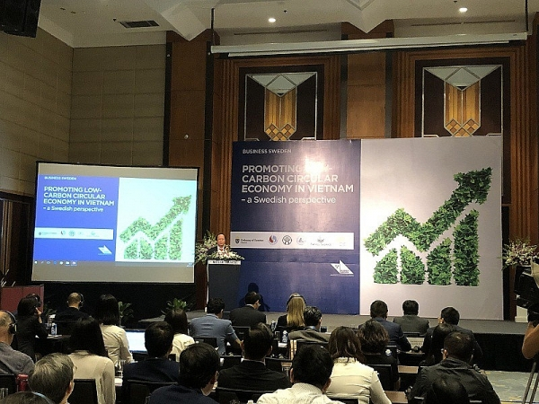 promoting low carbon circular economy with a swedish perspective