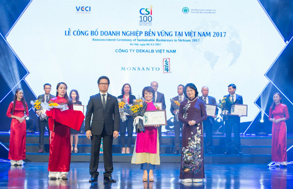 dekalb vietnam ranked among vietnams top 10 sustainable businesses