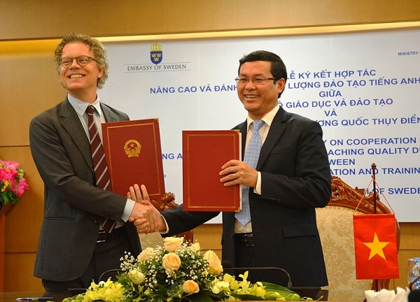 kingdom of sweden to lend hand in improving english training