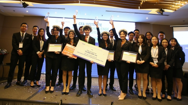 cfa charterholders celebrate 11th award ceremony