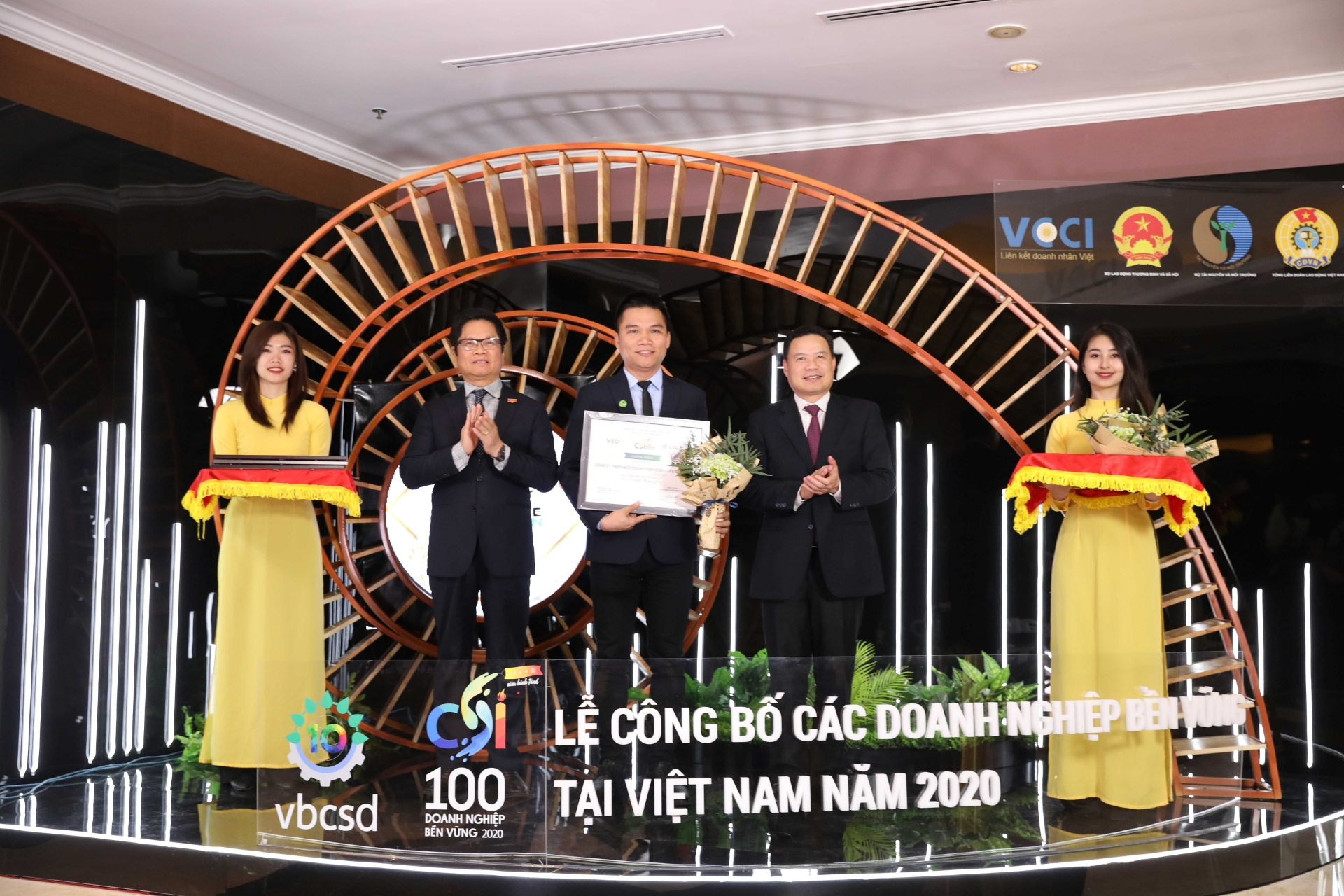 herbalife vietnam recognised among most sustainable companies