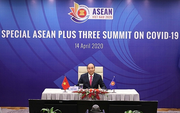 asean plus three pass joint statement on covid 19