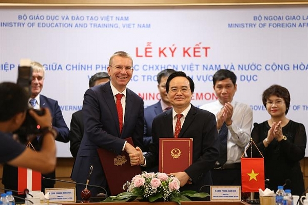 vietnam and latvia strengthen co operation in education