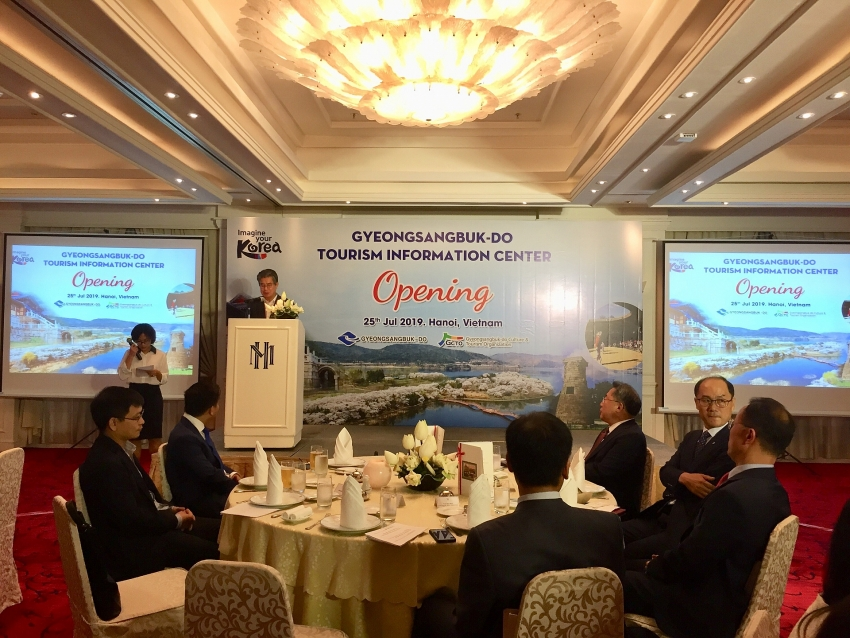 gyeongsangbuk opens second tourism information centre in vietnam