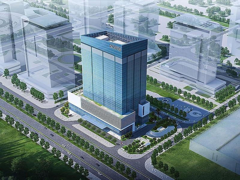 samsung starts construction of new rd centre in vietnam