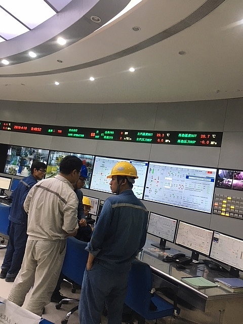 vinh tan 1 thermal plant to reduce power thirst in southern provinces