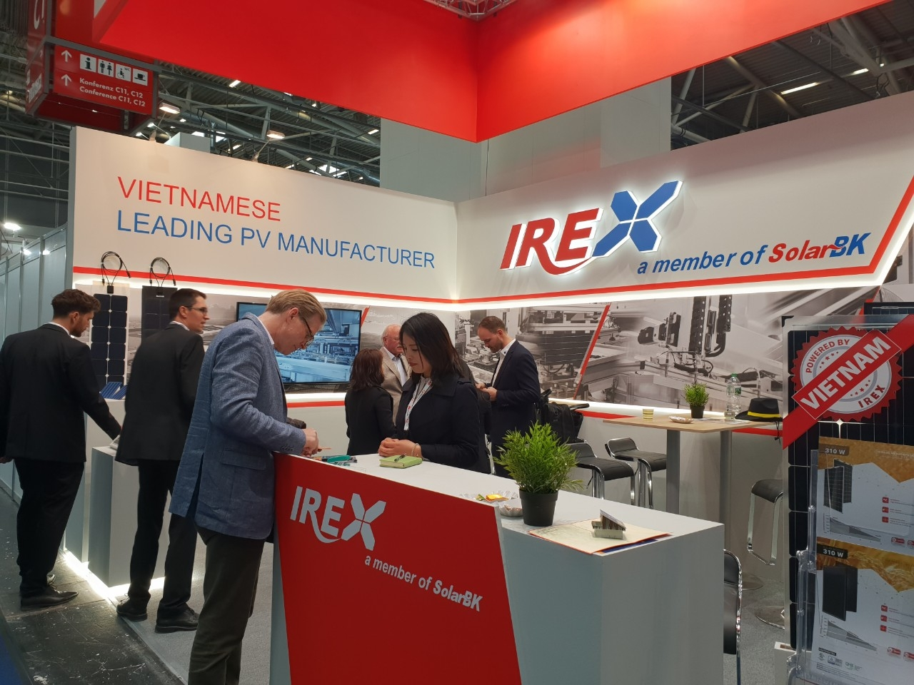 irex solar panels bring vietnamese brand to the world