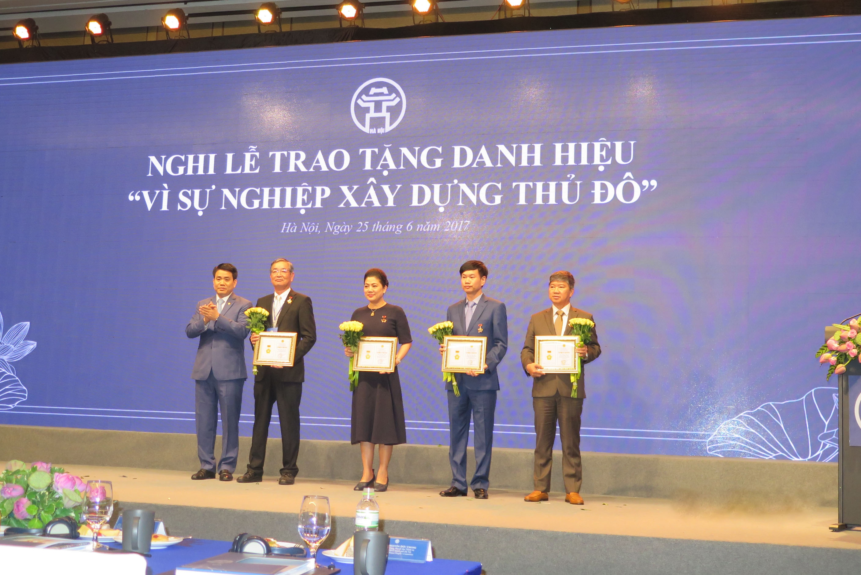 aeon chairman awarded for the cause of hanoi title