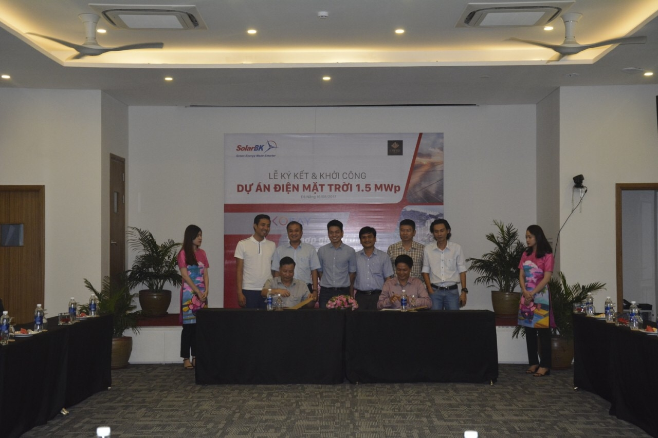 cocobay danang mega complex to be lit up with solarbk solar system