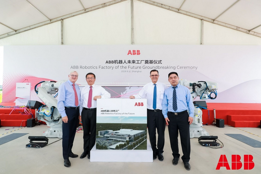 abb breaks ground on its advanced robotics factory in shanghai