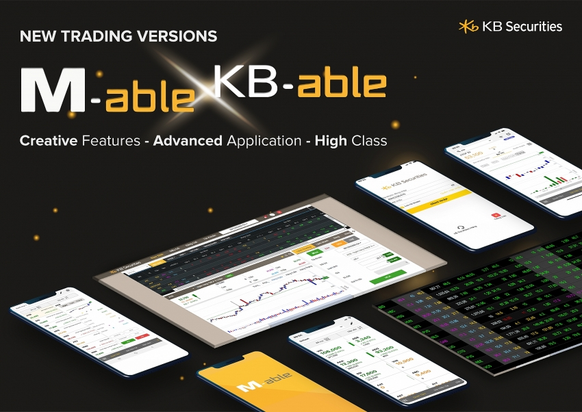 kbsv launches mobile trading app m able
